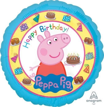 Hb peppa pig foil balloon