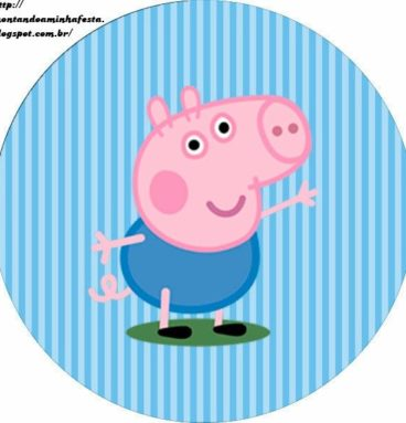 party pack sticker george pig